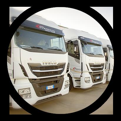 Logistica e Trasporti. La Storia dell'azienda di autotrasporti Mossucca: 2018.