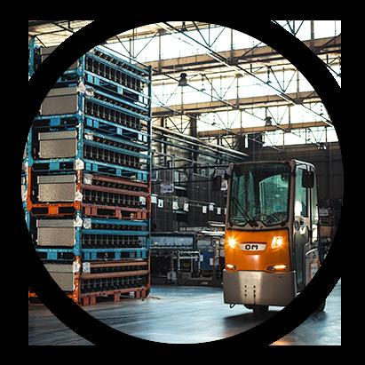 Imballaggio e reimballaggio, etichettatura, immagazzinamento, e controllo qualità della merce trasportata.