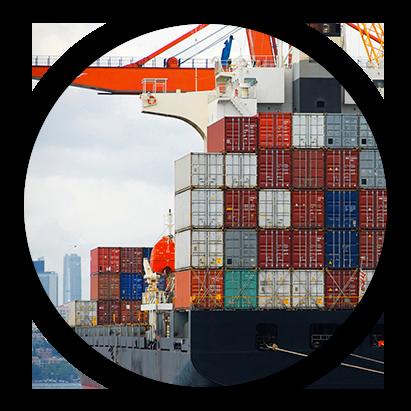 Container per la Logistica di Trasporti Via Mare